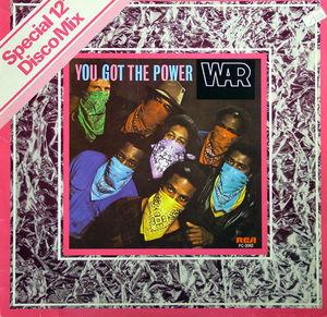 Single Cover War - You Got The Power