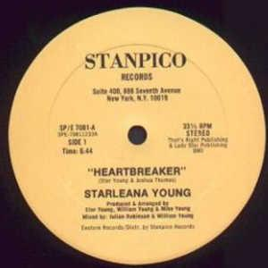 Single Cover Starleana - Heartbreaker Young