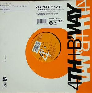 Single Cover Boo-yaa T.r.i.b.e. - Psyko Funk