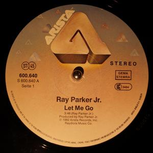 Single Cover Ray - Let Me Go Parker Jr.