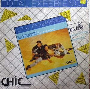 Single Cover Total Experience - Happiness (that's What We Need)