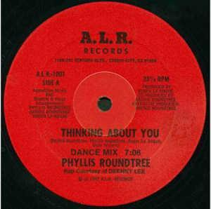 Single Cover Phyllis - Thinking About You Roundtree