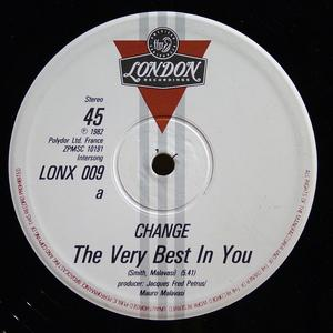 Single Cover Change - The Very Best In You