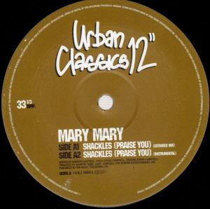Single Cover Mary Mary - Shackles (praise You)