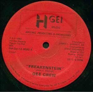 Single Cover Gee Crew - Freakenstein