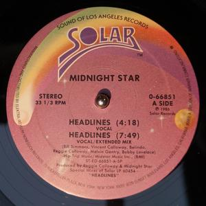 Single Cover Midnight Star - Headlines
