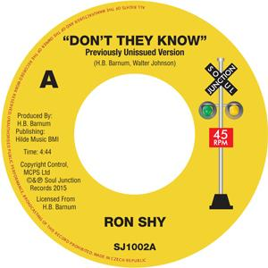 Single Cover Ron - Don't They Know Shy