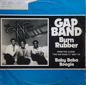 Single Cover The - Burn Rubber On Me Gap Band