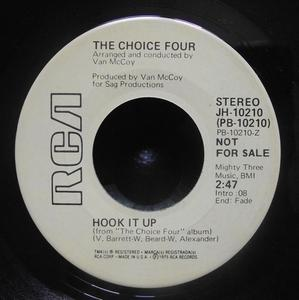 Single Cover The - Hook It Up Choice Four