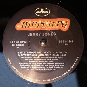 Single Cover Jerry - Mysterious And Sexy Jones