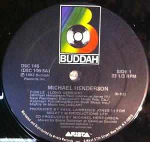 Single Cover Michael - Fickle Henderson
