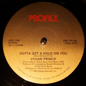 Single Cover Vivian - Gotta Get A Hold On You Prince