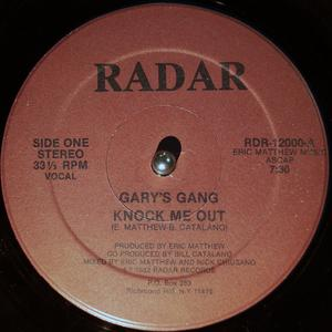 Single Cover Gary's Gang - Knock Me Out