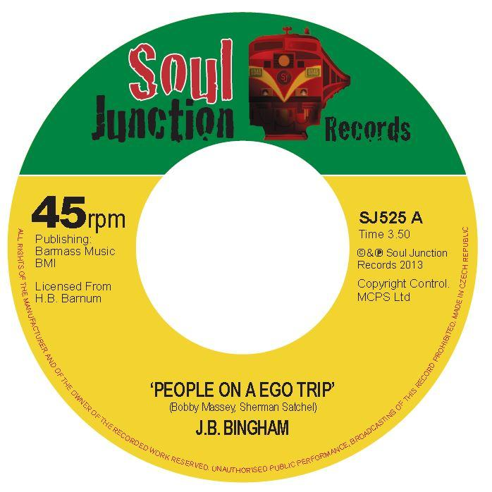 Single Cover J.b. - People On A Ego Trip Bingham