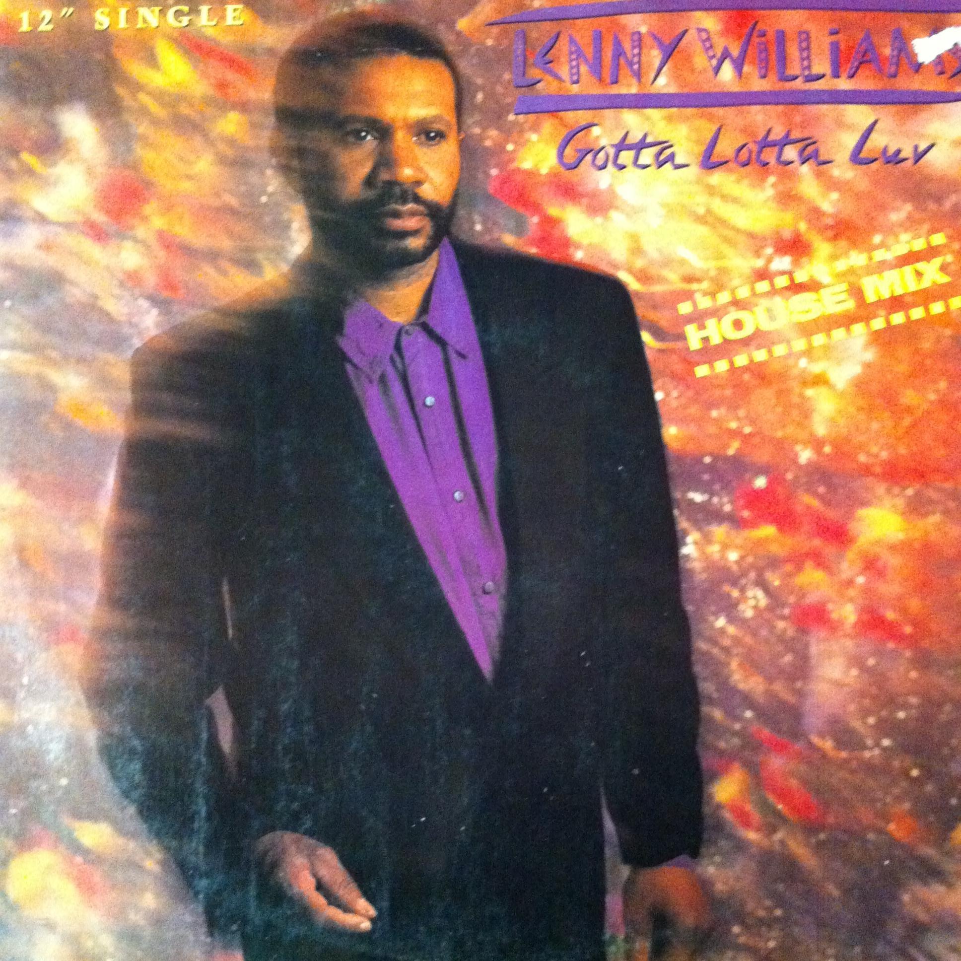 Single Cover Lenny - Gotta Lotta Luv Williams