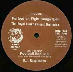 Single Cover The - Football Rap Royal Funkharmonic Orchestra