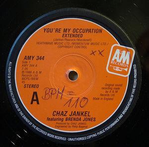 Single Cover Chaz - You're My Occupation (feat.brenda Jones) Jankel