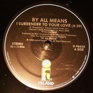 Single Cover By All Means - I Surrender To Your Love