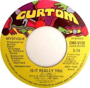 Single Cover Mystique - Is It Really You