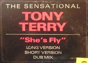 Single Cover Tony - She's Fly Terry