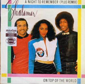 Single Cover Shalamar - A Night To Remember