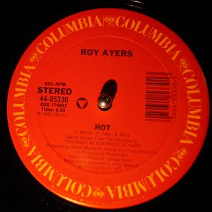 Single Cover Roy - Hot Ayers