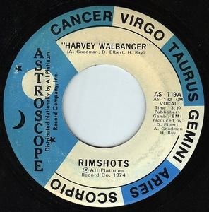 Single Cover The - Harvey Walbanger Rimshots