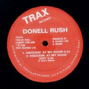 Single Cover Donell - Knockin' At My Door Rush