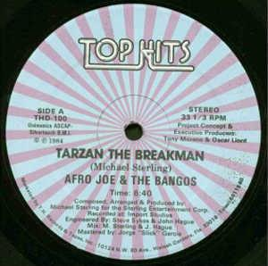 Single Cover Afro Joe And The Bangos - Tarzan The Breakman