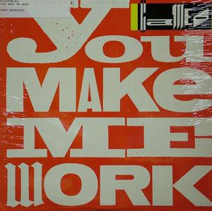 Single Cover Cameo - You Make Me Work