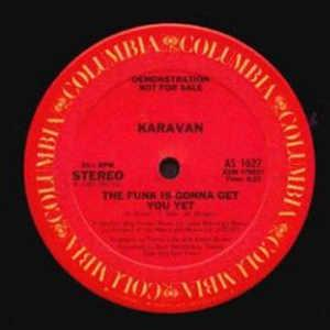 Single Cover Karavan - The Funk Is Gonna Get You Yet