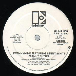 Single Cover Twennynine Featuring Lenny White - Peanut Butter