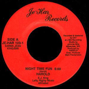 Single Cover Harold - Night Time Fun