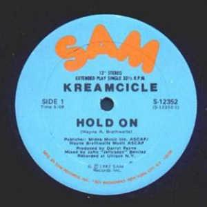 Single Cover Kreamcicle - Hold On