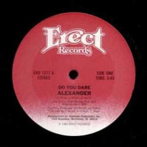 Single Cover Alexander - Do You Dare