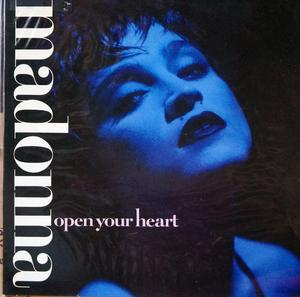 Single Cover Madonna - Open Your Heart