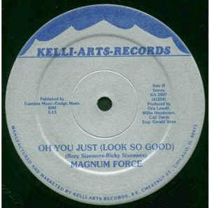 Single Cover Magnum Force - Girl You're Too Cool