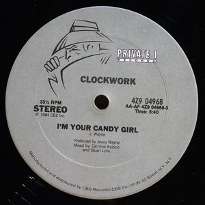 Single Cover Clockwork - I'm Your Candy Girl