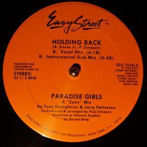 Single Cover Paradise Girls - Holding Back