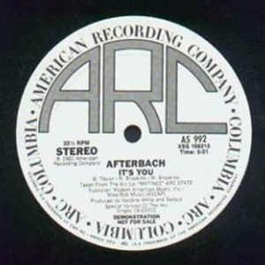 Single Cover Afterbach - It's You