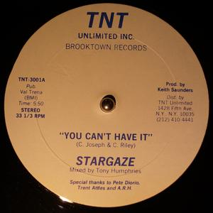 Single Cover Stargaze - You Can't Have It