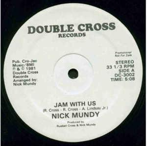 Single Cover Nick - Jam With Us Mundy