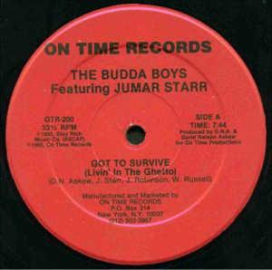 Single Cover The - Got To Survive (livin' In The Ghetto) Budda Boys Feat. Juma Starr