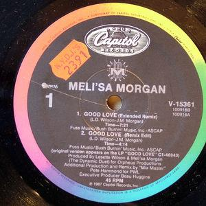 Single Cover Meli'sa - Good Love Morgan