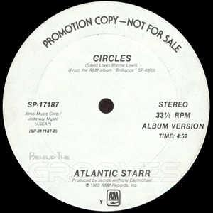 Single Cover Atlantic Starr - Circles