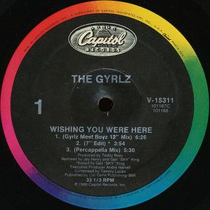 Single Cover The - Wishing You Were Here Gyrlz
