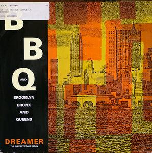 Single Cover B B & Q Band - Dreamer (4 Track Remixes)