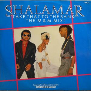 Single Cover Shalamar - Take That To The Bank M&m Mix