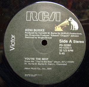 Single Cover Keni - You're The Best Burke