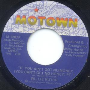 Single Cover Willie - If You Ain't Got No Money Hutch